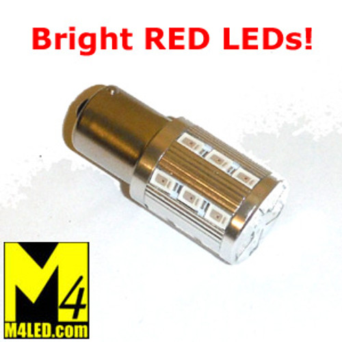 30% Off - 1156-23-5630-RED LED 1156 Brake or Tail Light (Single Intensity)