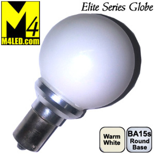 Elite 1156-GLOBE-WW-2 Vanity Globe replaces 20-99 Warm White Color