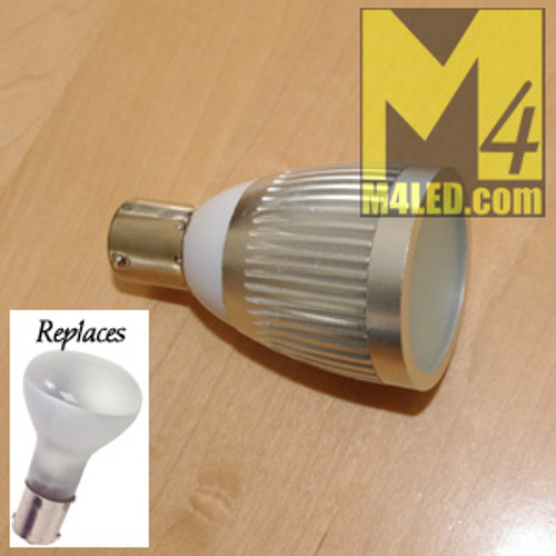 1383-3W-NW Natural White 1383 Retrofit Bulb 3 Watts Aluminum Finned Housing