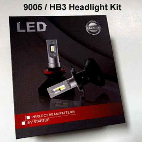HEADLIGHTS-9005-V6s Headlight Kit with 9005 (HB3) Bases