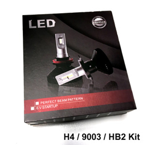 HEADLIGHTS-H4-V6s Headlight Kit with H4 (9003 HB2) Bases