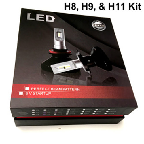 HEADLIGHTS-H8/H9/H11-V6s Version 6s Headlight Kit