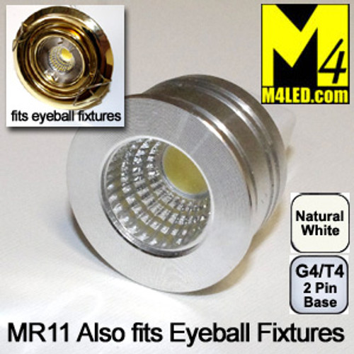 DOORBUSTER 50% Off - MR11-3COB-NW  Natural White MR11 Kit Fits Eyeball Fixtures