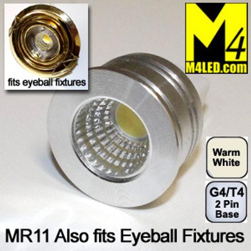 DOORBUSTER 50% Off - MR11-3COB-WW Warm White MR11 Kit Fits Eyeball Fixtures