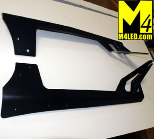 Jeep Wrangler JK Upper Windshield Light Mounts - 52""