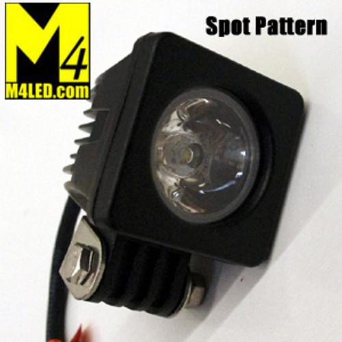 SAN6101-S 10w CREE POD Light Spot Pattern