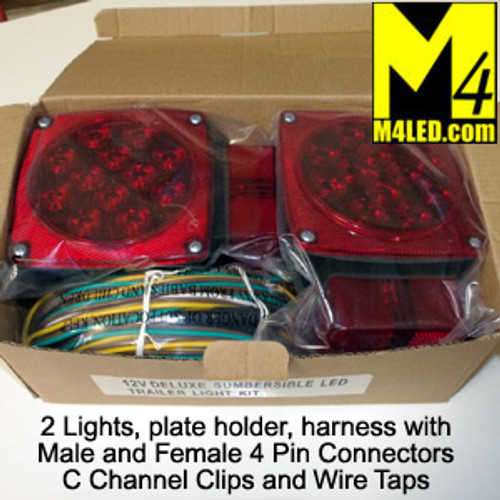 15% Off Submersible Trailer LED Tail Lamp Kit