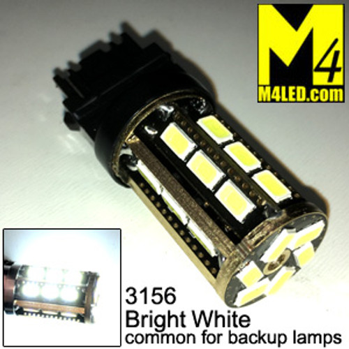3156-24-5630-WHITE 3156 Amber Tail Light Replacement, Reverse