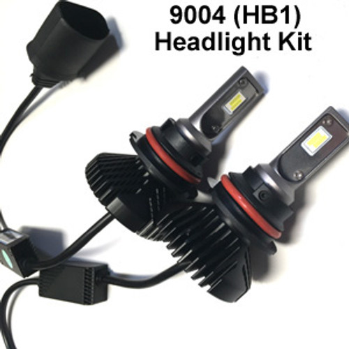 HEADLIGHTS-9004-V6s Headlight Kit with 9004 (HB1) Bases