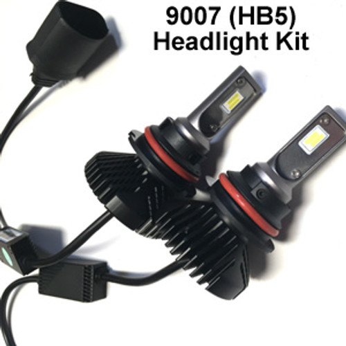 HEADLIGHTS-9007-V6s Headlight Kit with 9007 (HB5) Bases