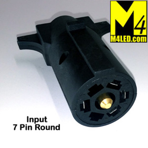 Trailer Harness adapter, 7 Pin to 5 Pin Flat