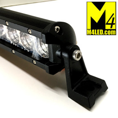 "52"" Skinny Side Mount 144w Single Row Light Bar Combo Pattern"