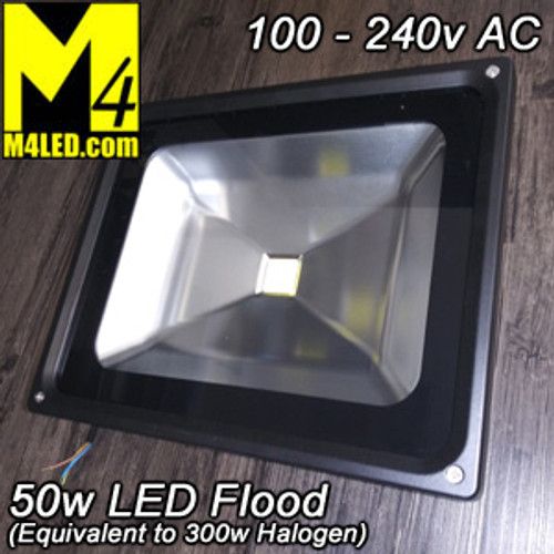 UT-F0501 Large 50w Flood Light (compare to 300w Halogen)