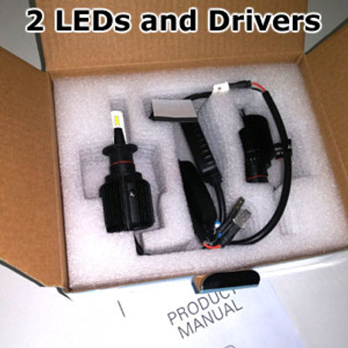 HEADLIGHTS-H3-BLADE Headlight/Fog Light kit by LEDO