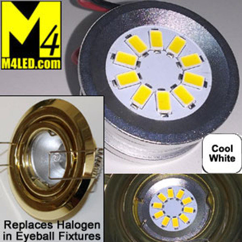 EYEBALL-10-5630-CW Cool White LED Retrofit for Halogen Eyeball Fixtures