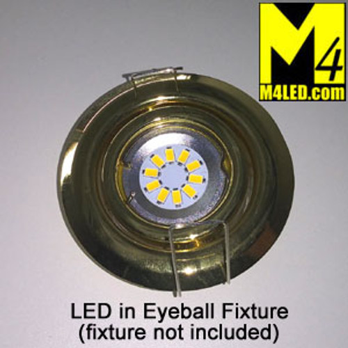 EYEBALL-10-5630-WW Warm White LED Retrofit for Halogen Eyeball Fixtures