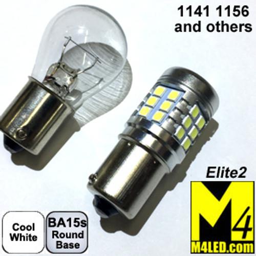 1156-33-3030-CW Cool White Elite2 (1141/1156) BA15s Base
