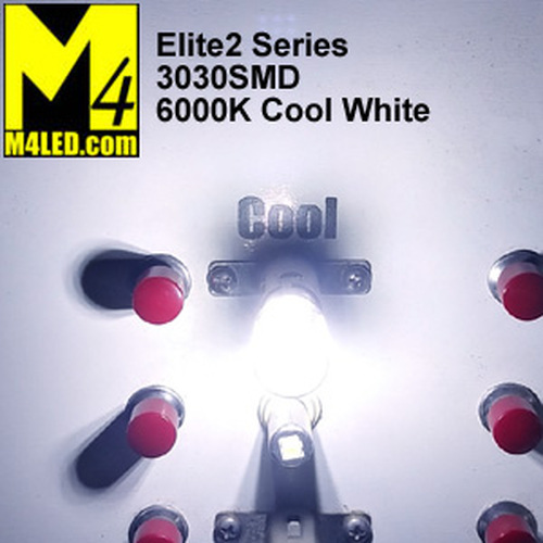 1156-9-3030-CW Cool White Elite2 (1003/1141/1156) BA15s Base