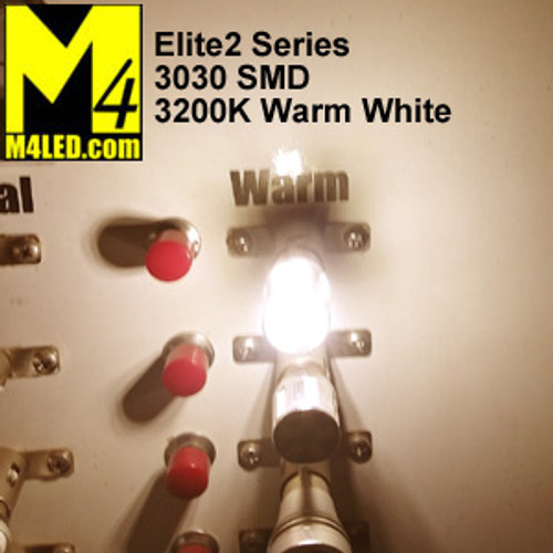 1156-9-3030-WW Warm White Elite2 (1003/1141/1156) BA15s Base
