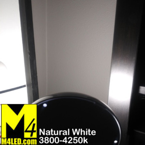 """Round SAN9101"""" Round Dome with 3 Level Touch Switch Natural White"""
