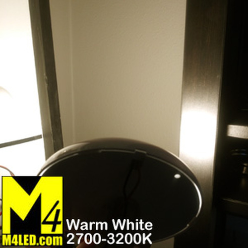 """Round SAN9101"""" Round Dome with 3 Level Touch Switch Warm White"""