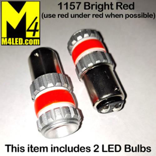 1157-G12-RED PAIR 1157 Brake and Tail Light (Dual Intensity)
