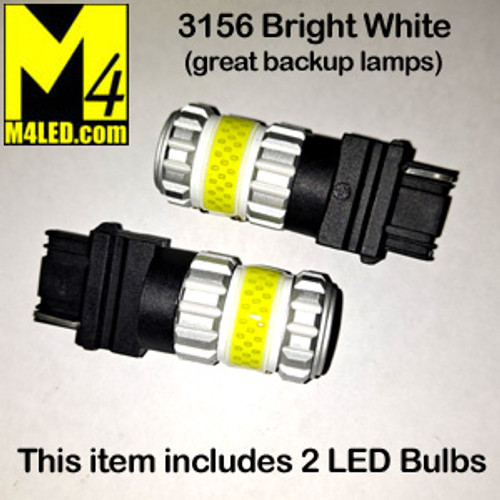 3156-G12-WHITE PAIR 3156 Brake and Tail Light (Backup)
