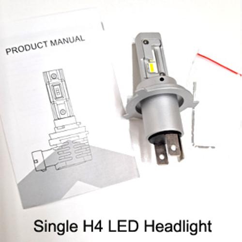 H4 LED Motorcycle Headlight (Single)