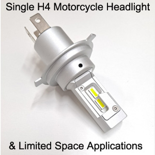 H4 LED Motorcycle Headlight (Single) 9003