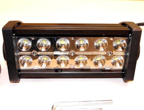 "Light Bar 6"" 36W with 12 3W Epistar LED Chips - Spot Pattern"