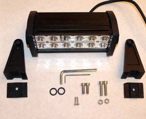 "Light Bar 6"" 36W with 12 3W Epistar LED Chips - Spot Pattern"