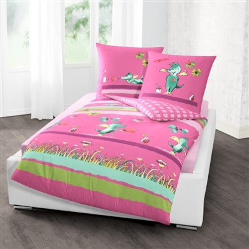 Duvet Cover Set DRAGON TABALUGA in pink