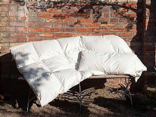 Organic Goose Down Comforter Lightweight EURO TWIN 53x87 inch (135x220cm)