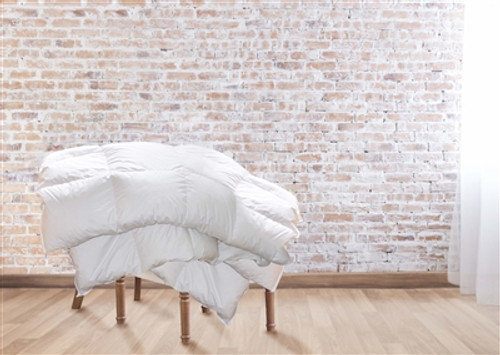 Goose Down Comforter All-Year EURO TWIN 53x79in, 135x200cm *back in stock*