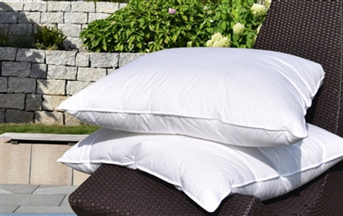 "Goose Down Pillow German Size 80x80cm / 31x31"" *back in stock*"