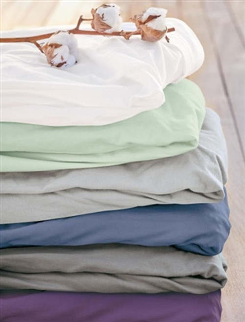 Organic Fitted Sheets made of Soft Jersey Cotton (twin size)