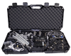 DRP Deluxe 13 Channel Data Acquisition System; 4 Shock/1 Steering/RPM/G Meter/Track Map; 8 Channel Expansions/Data Hub with Memory Key; Battery Pack; Deluxe Installation Kit, Case & Training