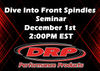 Dive Into Front Spindles Seminar