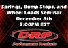 Springs, Bump Stops, and Wheel Loads Seminar