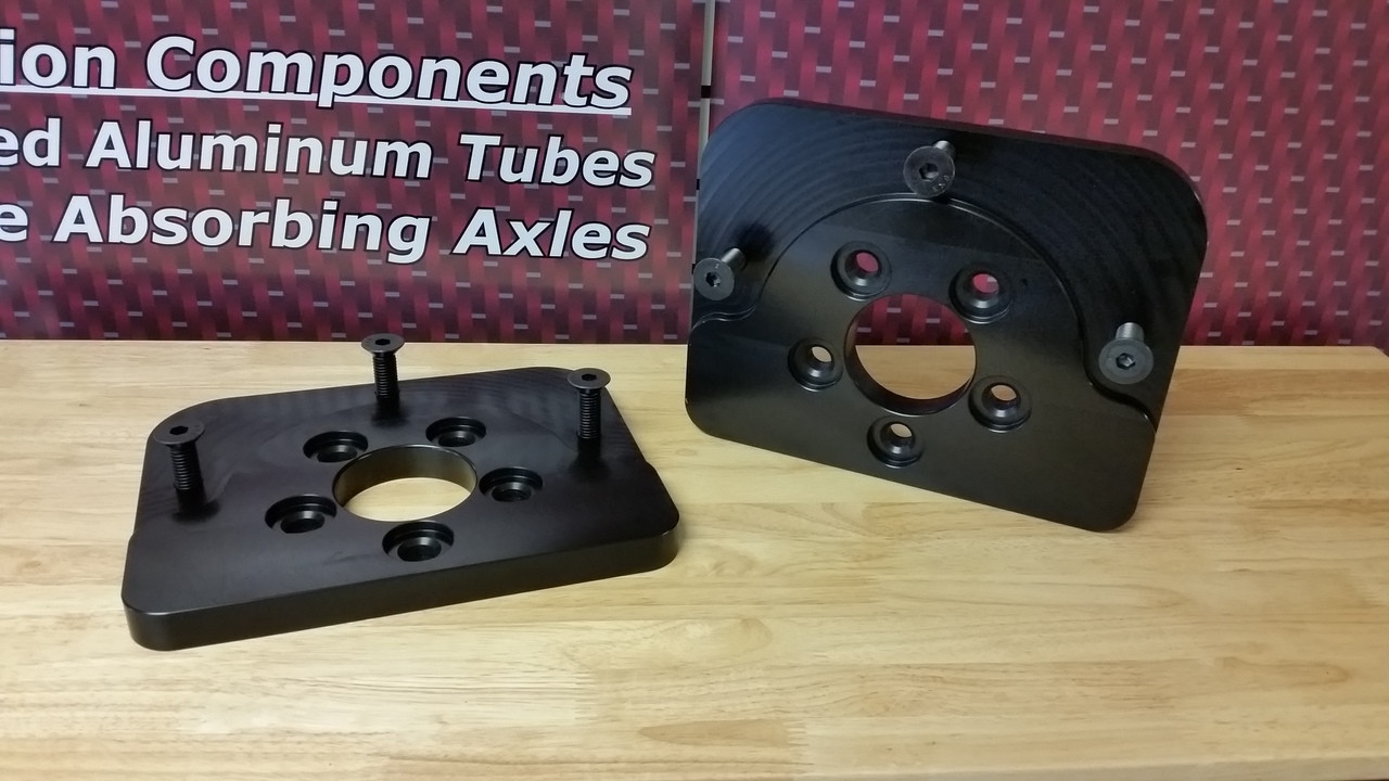 5  x 5  ADAPTER PLATE FOR REAR END FIXTURE (2 REQUIRED)