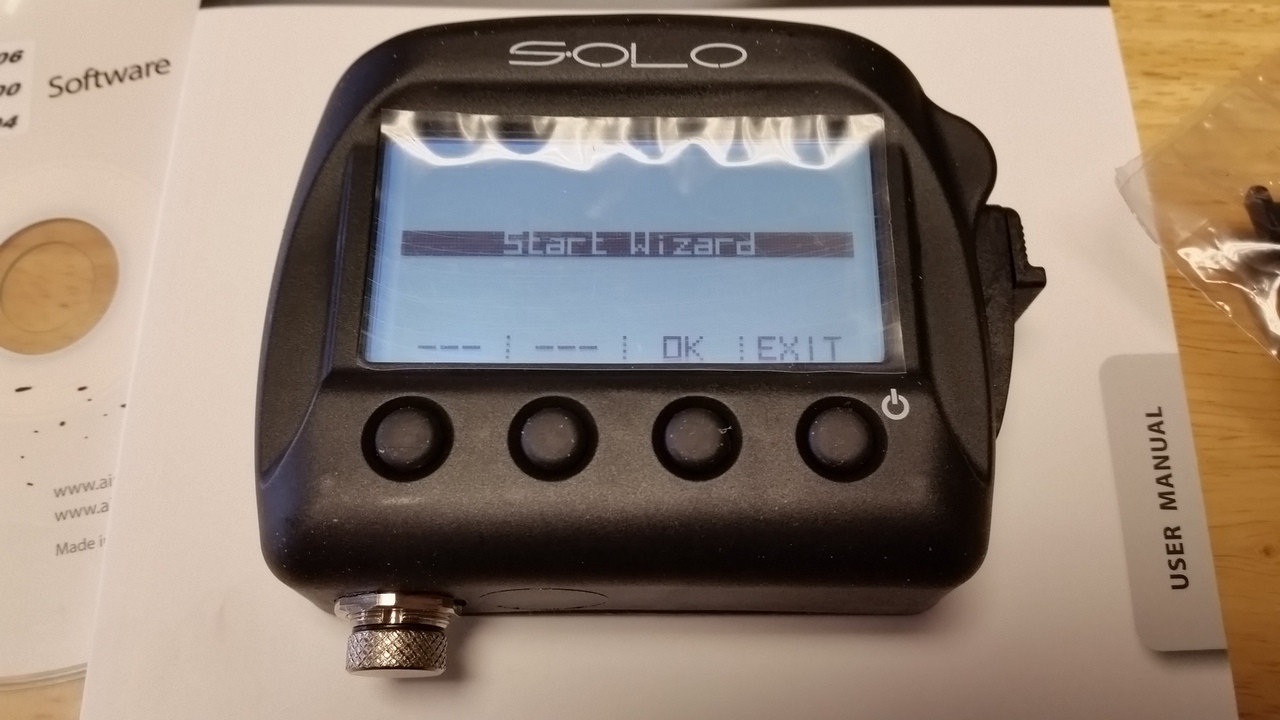 AIM SOLO GPS LAP TIMER WITH TRACK MAPPING