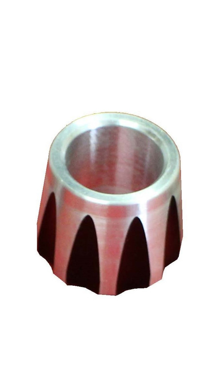 """3/4"""" ID x .750"""" Scalloped Rod End Spacer"""