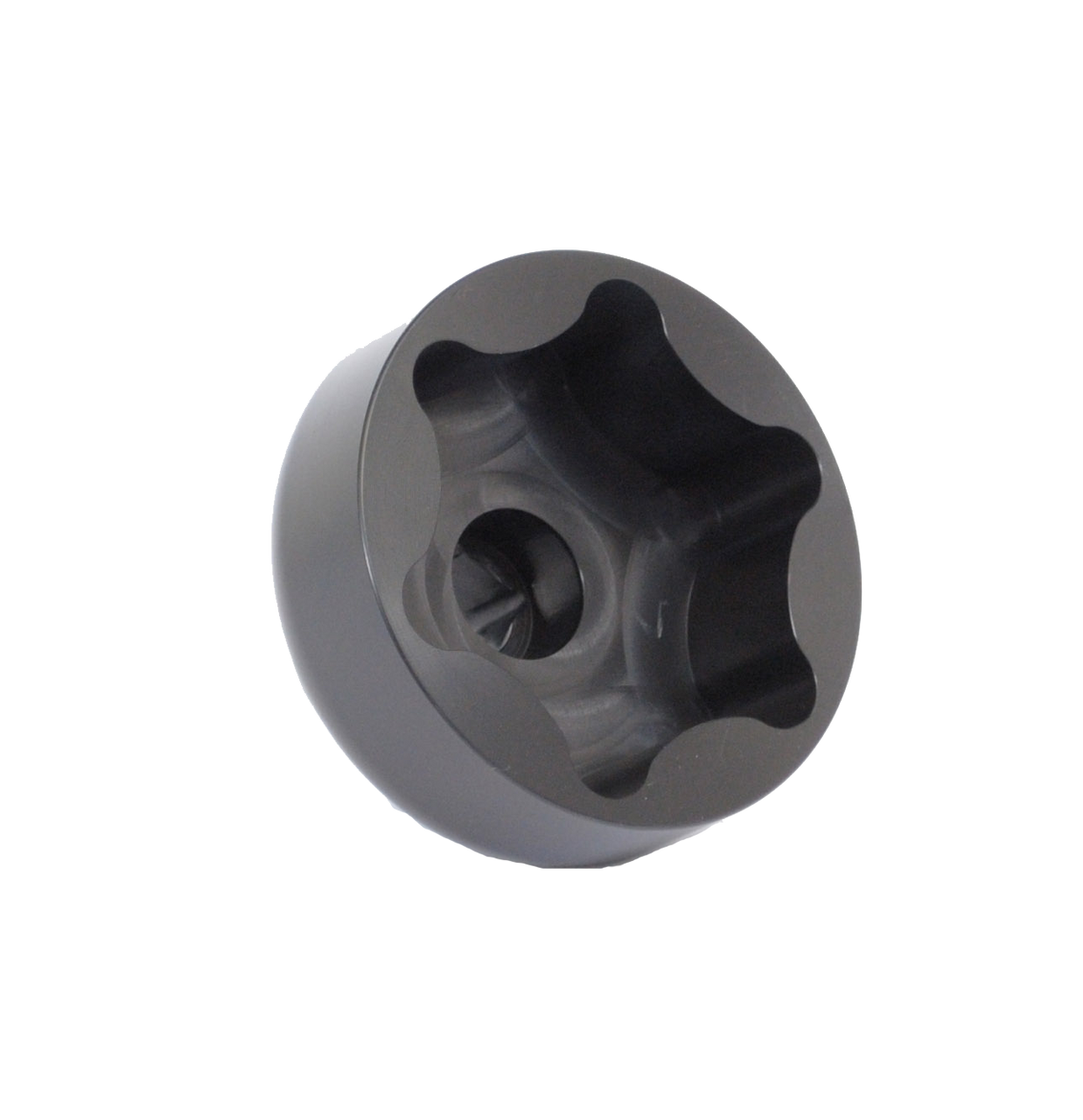 """Wide Five/2"""" 5x5 Scalloped Spindle Nut Socket"""