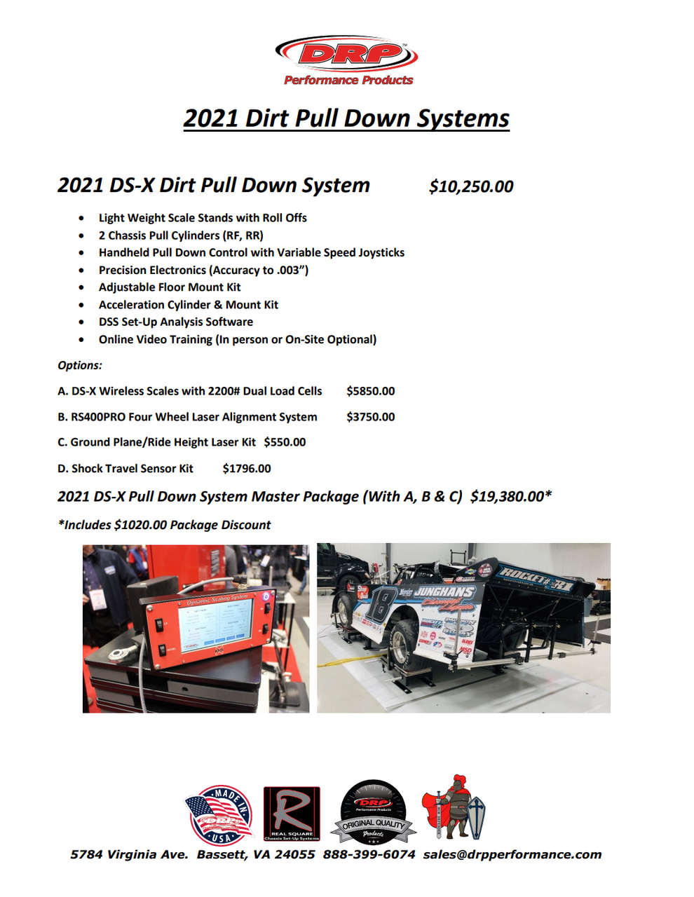DS-X Dirt Pull Down System
