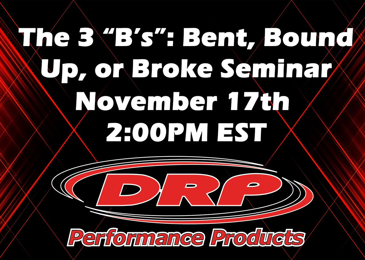 "The 3 ""B's"": Bent, Bound Up, or Broke Seminar"