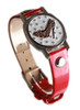 Cheetah Shoe Ball Marker Bracelet with Red Band