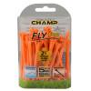FLYTee Orange Golf Tees
