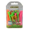 FLYTee Neon Mix Golf Tees