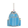 Ame & Lulu Kingsley Tennis Backpack - Ticking Stripe