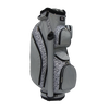 RJ Sports LB-960 Grey Leopard Ladies Golf Bag + Club Cover Set